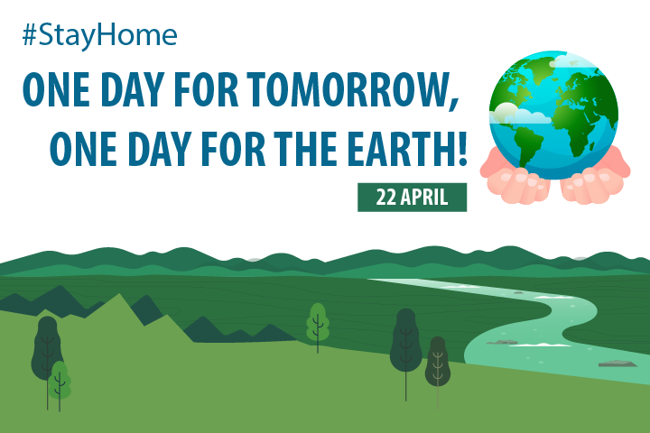 One day for tomorrow, one day for the Earth!