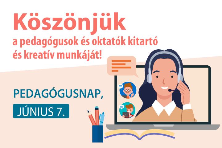 Pedagógusnap, június 7. – Köszönjük a pedagógusok munkáját!
