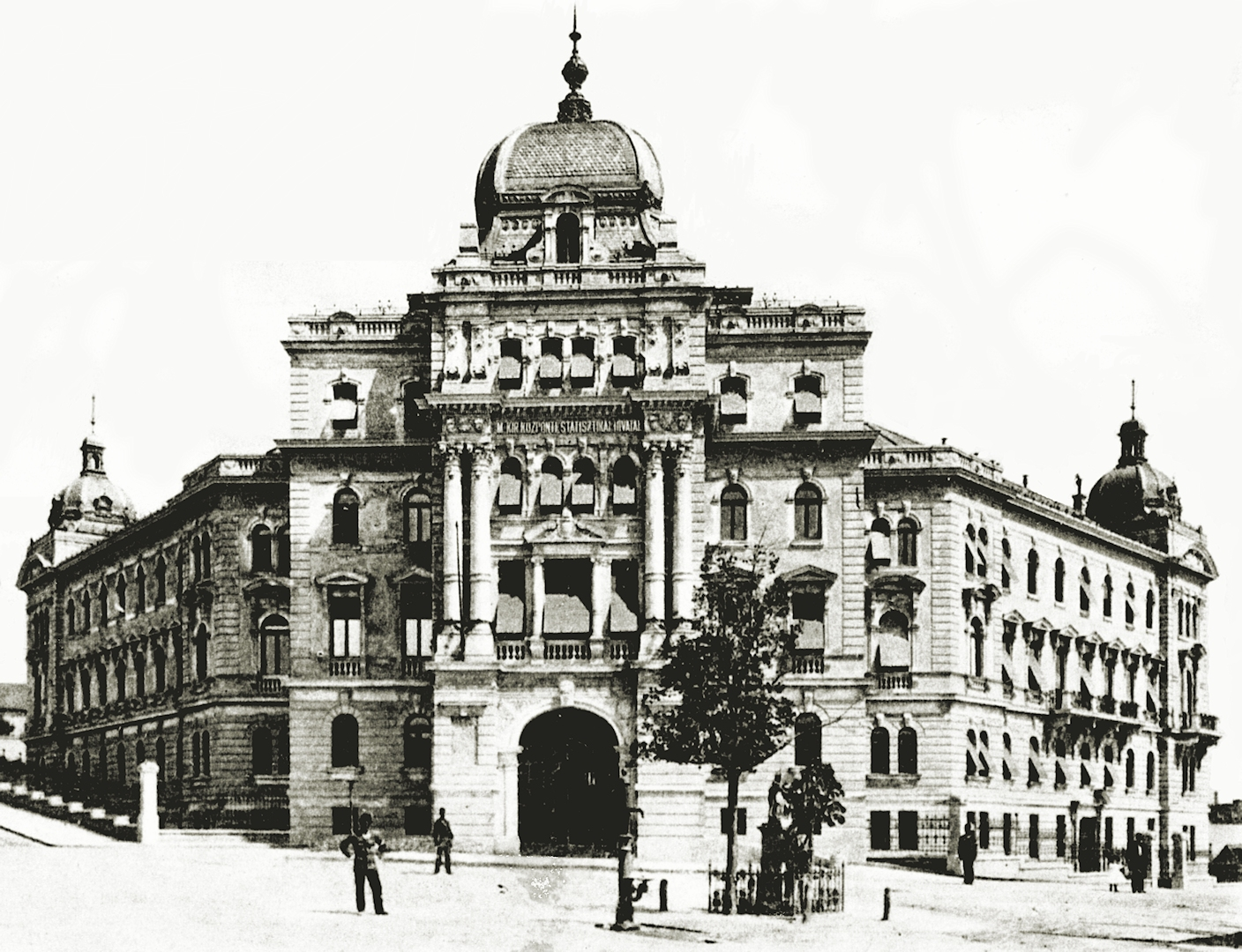 The building of the HCSO in 1898