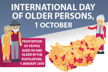 International Day of Older Persons, 1 October