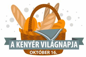 A kenyér világnapja, október 16.