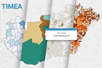 Interactive Visualising Mapping Application screenshot